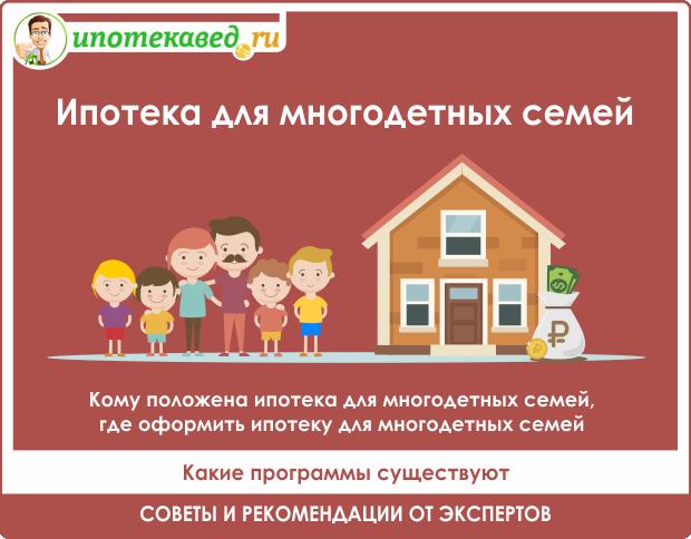 Социальная поддержка многодетных семей в 2019 году: программа господдержки