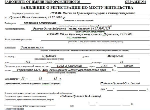 Как прописать ребенка по месту прописки отца в 2019 году: документы, через Госуслуги